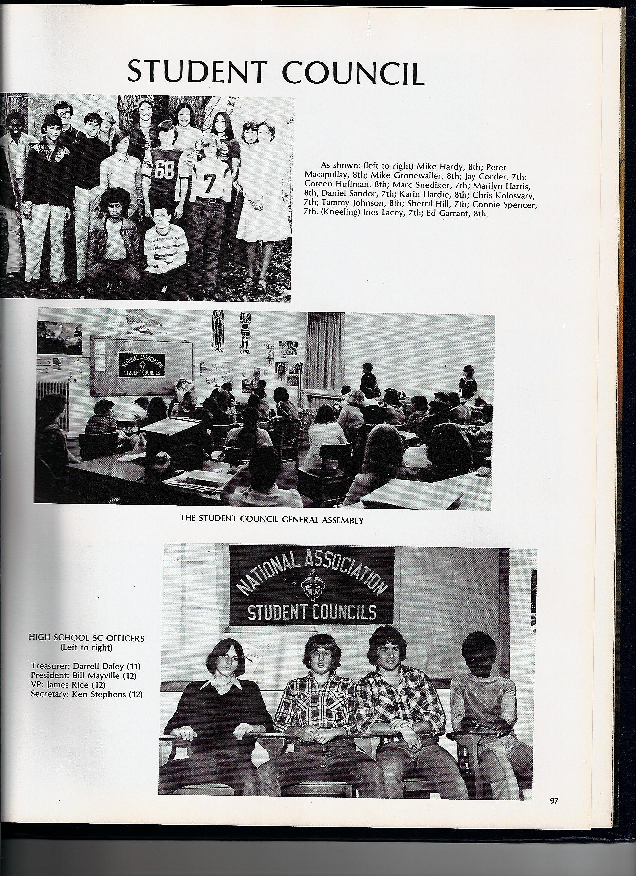Hardys Augsburg 1978 aahs yearbook